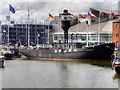 TA0928 : Hull Marina, Spurn Lightship by David Dixon