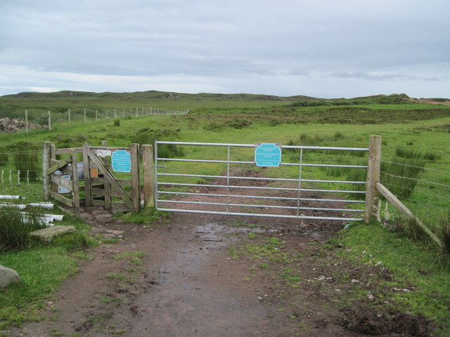 Gate to the beach at Redpoint