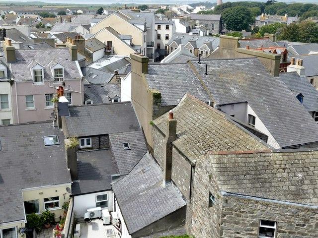 Castletown roofscape