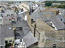 SC2667 : Castletown roofscape by Graham Hogg