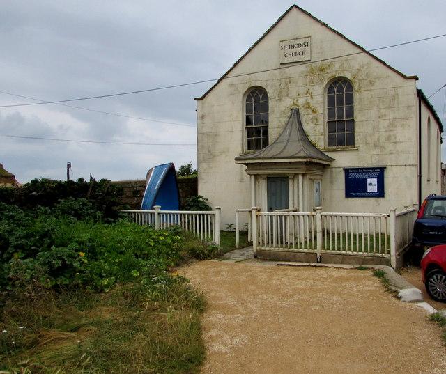 Grade II listed former Methodist Church, West Bay, Dorset