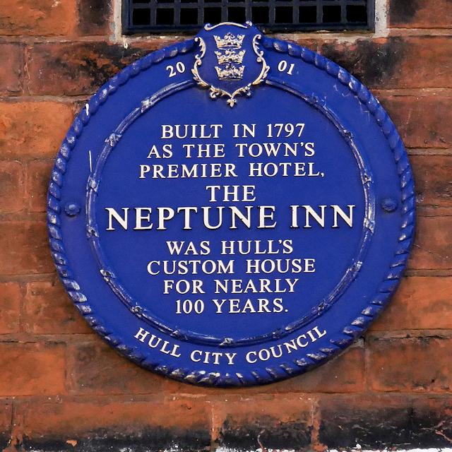 Hull Council Blue Plaque, Neptune Inn
