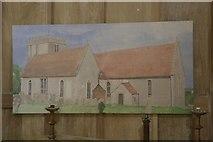SU4980 : Church Painting by Bill Nicholls