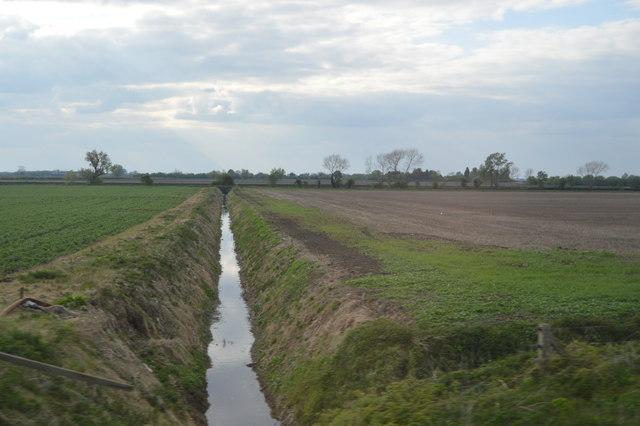 Drainage ditch, North Fen