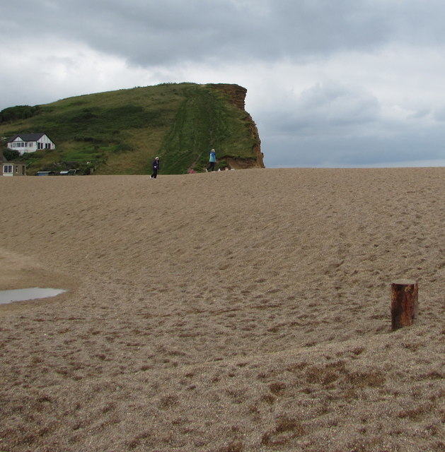 Beach and cliff, West Bay, Dorset