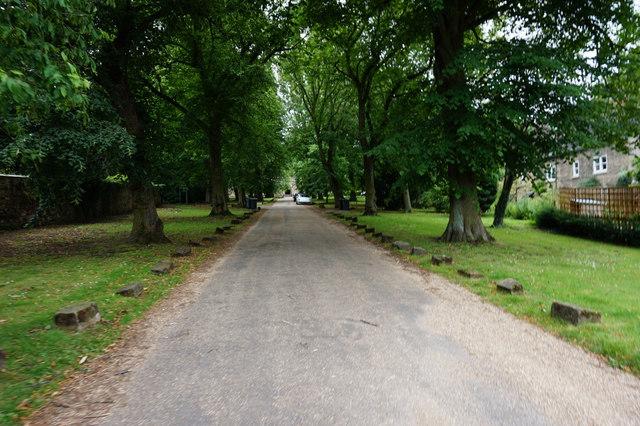Driveway to Holy Trinity Church, Wentworth