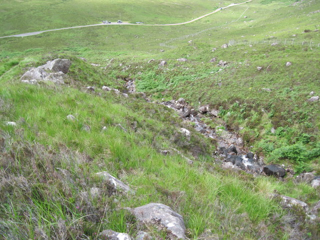 Lower hillside of Liathach