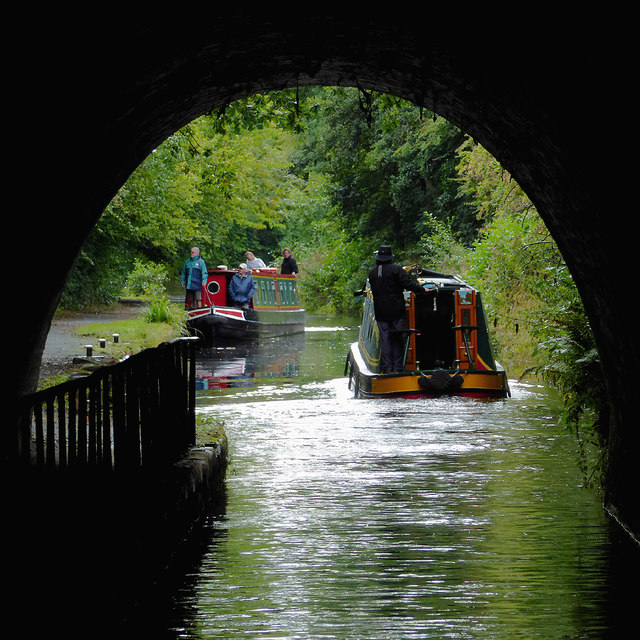 Whitehurst Tunnel (north portal) near Pentre, Wrexham