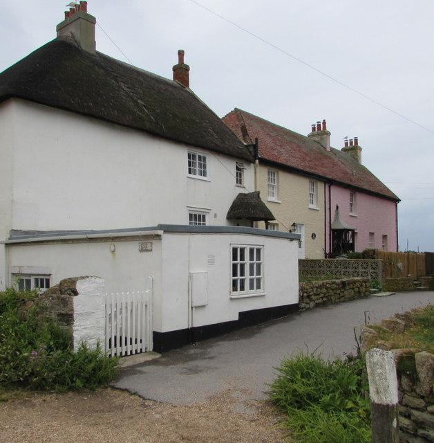 Grade II listed Ship Cottage, West Bay, Dorset