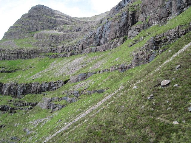 Hillside of Coire Liath Mhor