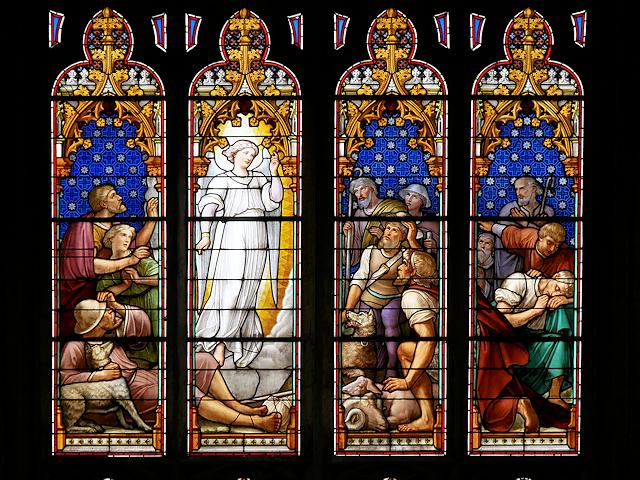 Howden Minster Great West Window (1)