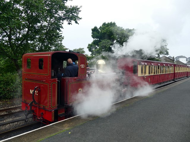 Ready to depart from Port Erin