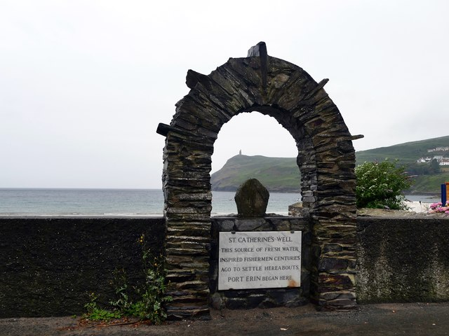 Stone arch above St Catherine's Well