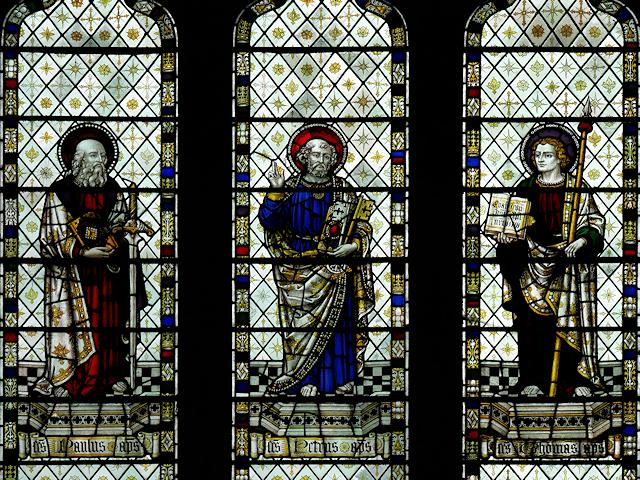 Howden Minster, East Window Detail