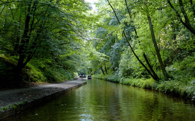 Llangollen Canal west of Chirk, Wrexham