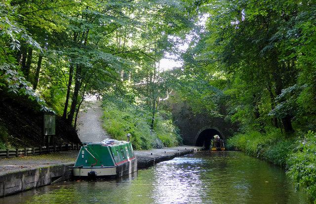 Llangollen Canal west of Chirk, Wrexham