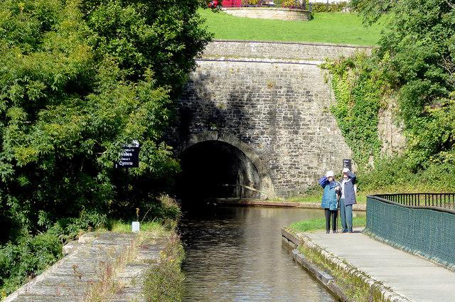 Chirk Tunnel near Wrexham