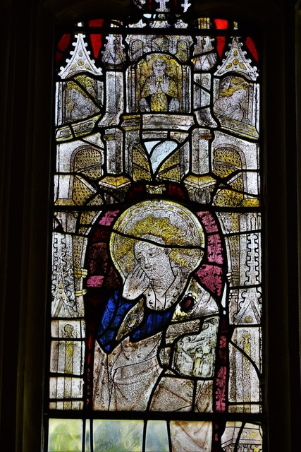 Stanton, St. Michael's Church: Stained glass window
