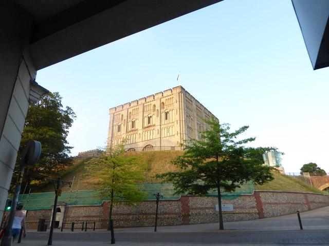 Norwich Castle: mid June 2017