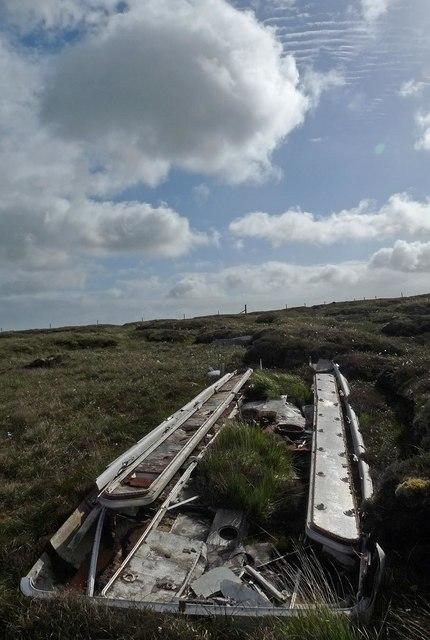 Coach roof, Gleann Shiadair, Isle of Lewis