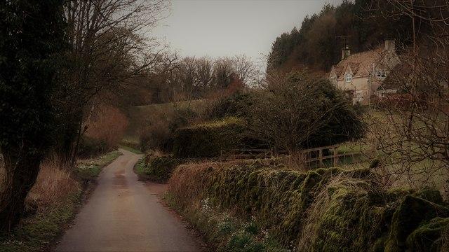 School Lane, Edgeworth