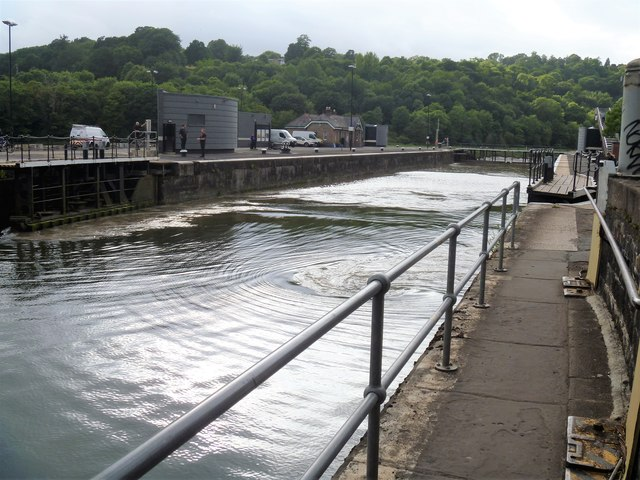 North entrance lock