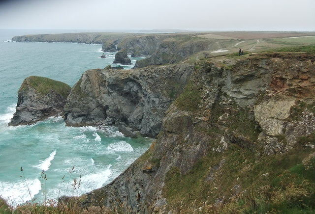 Coast at Bedruthan Steps