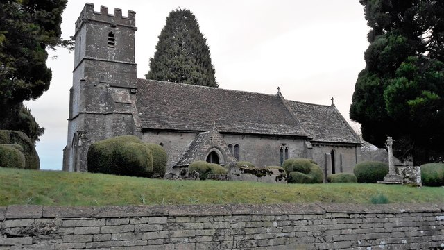St Mary's church, Edgeworth