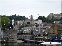 ST5772 : A view from the harbour by Michael Dibb