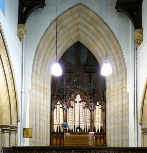 Hyde Chapel Organ