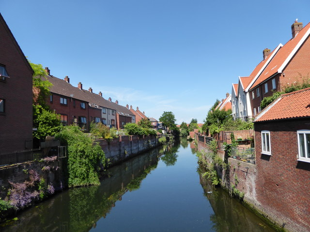 The River Wensum seen from Coslany Square