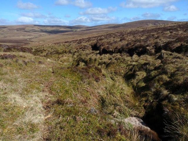 Course of the Sandsack Burn, Caithness