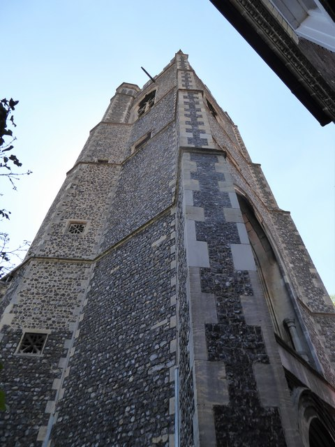 St Lawrence, Norwich: tower