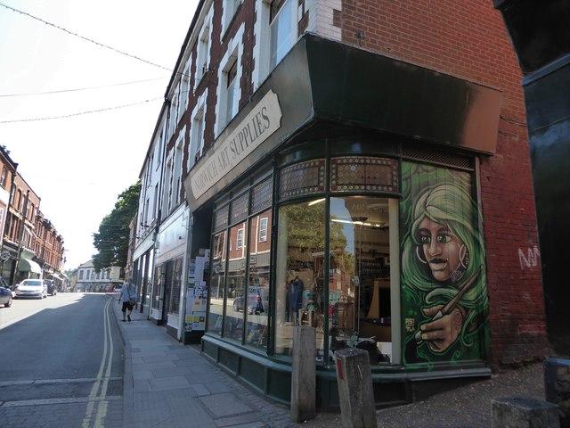 Norwich Art Supplies, St Benedict's Street