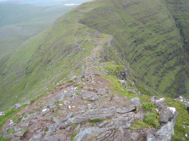 Ridge on Beinn Alligin near Tom na Gruagaich