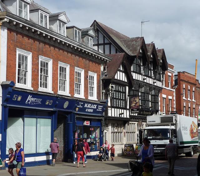 27-39 Widemarsh Street, Hereford