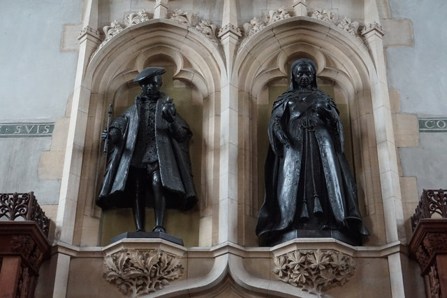 King Edward VI and Queen Victoria