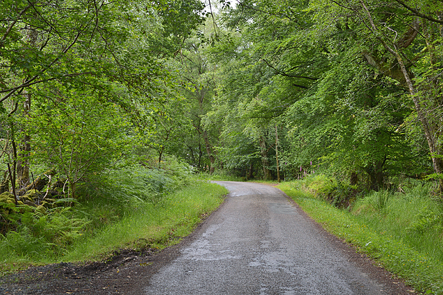 Minor road to South Ballachulish