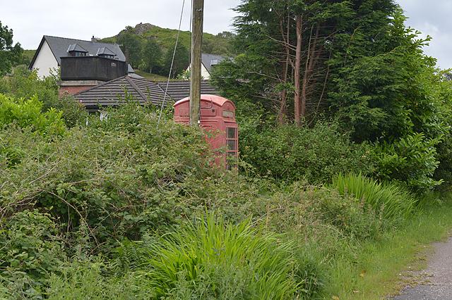 Telephone box, Kentallen