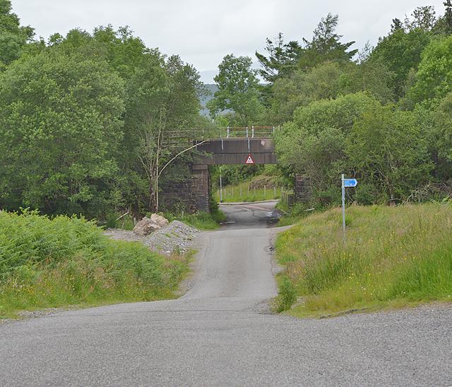 Callander & Oban Railway bridge, at Connel