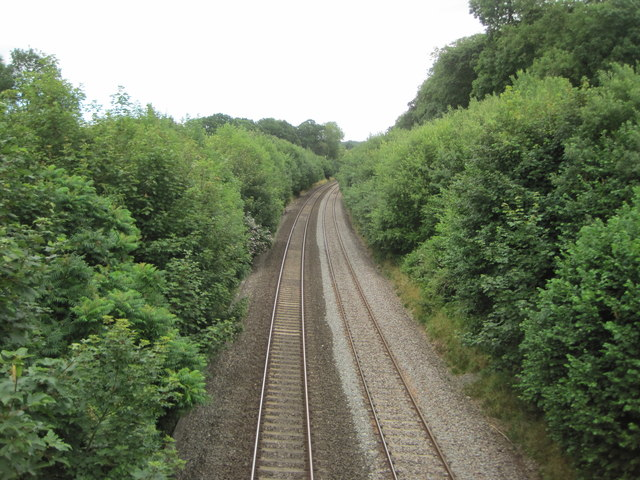 Burlescombe railway station (site), Devon