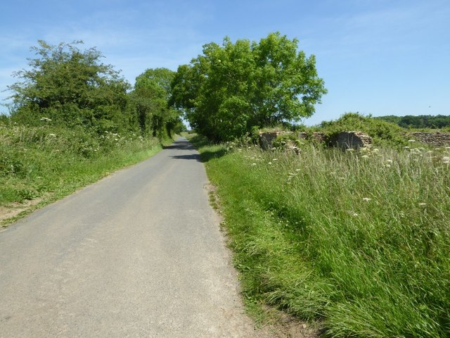 Country road in Hammersmith Bottom