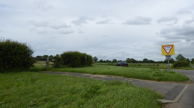 Wide verges at junction of Westwood Road and Frome Road