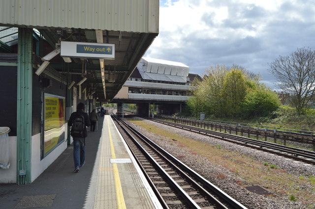 Preston Road Underground Station