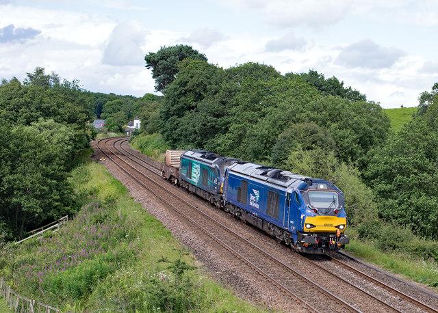 6M60 between Milton crossing and Brampton - July 2017