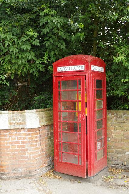 Defibrillator Box, Wendover