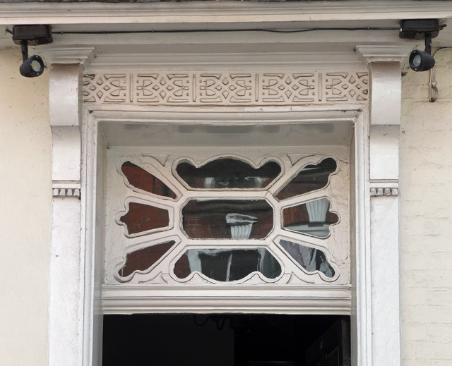 Detail of 24 Widemarsh Street, Hereford