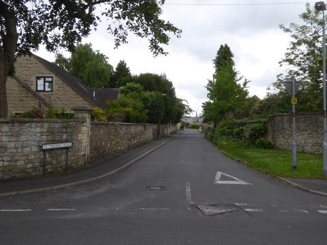 St Thomas' Road, Trowbridge