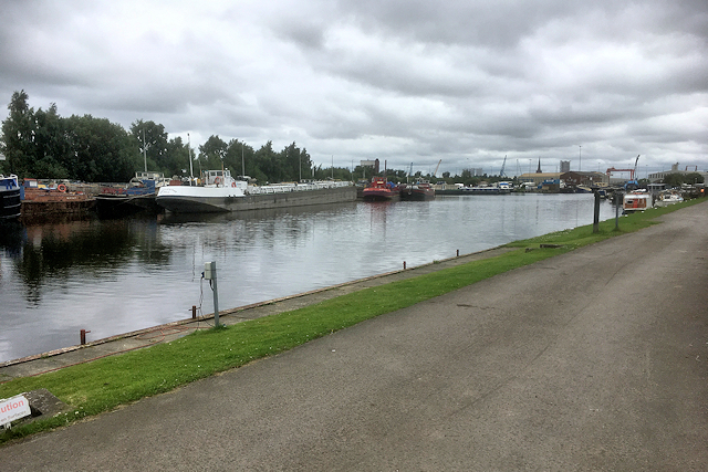 The Aire and Calder Navigation at Goole