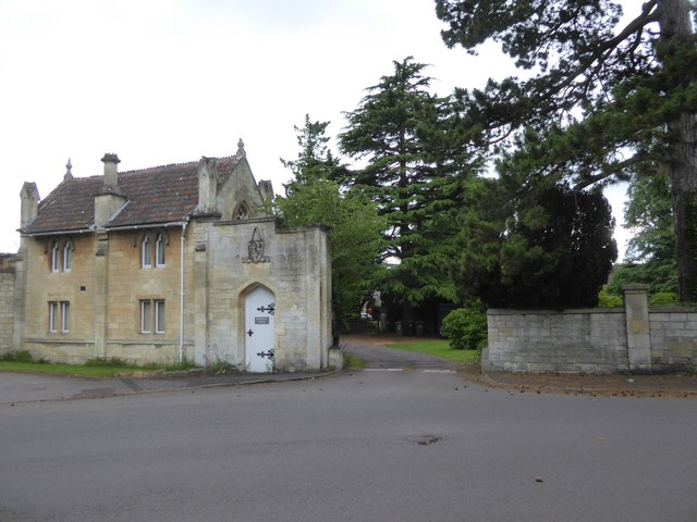 The lodge and entrance to Rodwell Hall, Trowbridge